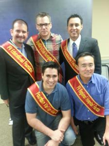 Mr. Fountain Valley 2013 Contestants