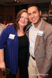 Volunteer of the Year – Annette Schwerin with Sergio Flores