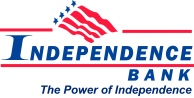 Independence Bank Logo - Slogan