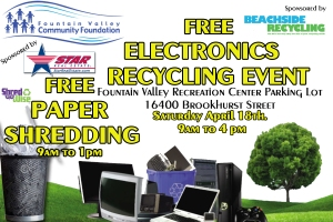 April 18th EWaste Event